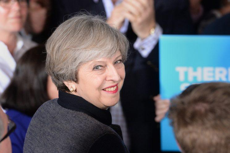 The results have been a huge boon for Theresa May (PA)