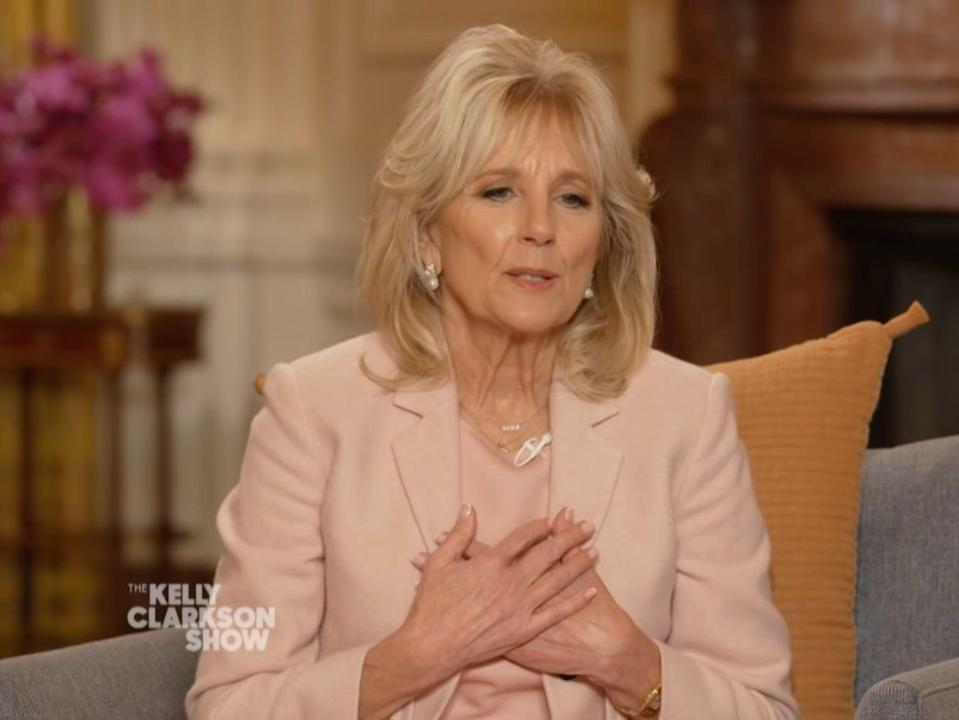 Dr Jill Biden opens up about losing Beau Biden  (The Kelly Clarkson Show )