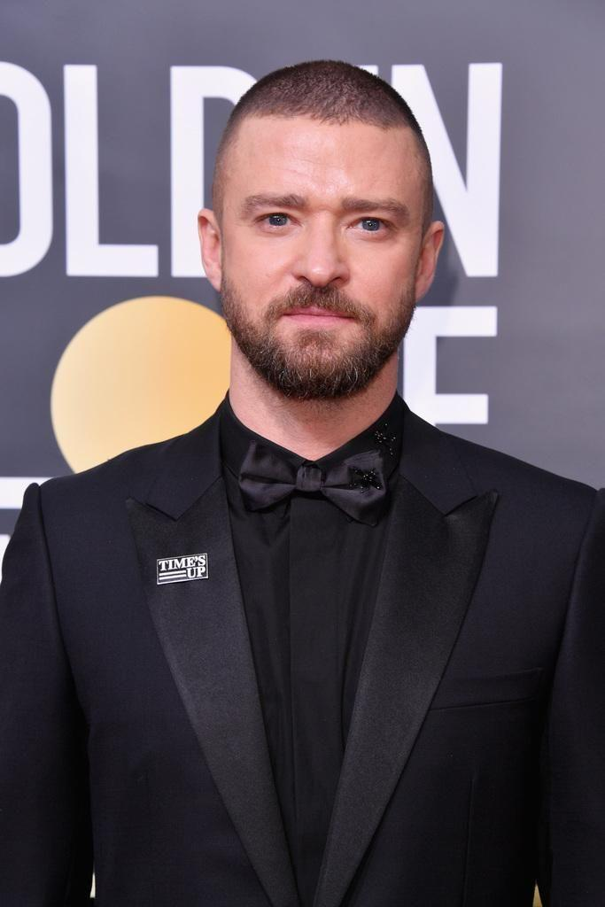Singer Justin Timberlake arrives for the 75th Golden Globe Awards on January 7, 2018, in Beverly Hills. Source: Getty
