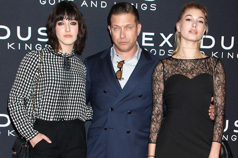 Stephen Baldwin with daughters Alaia and Hailey