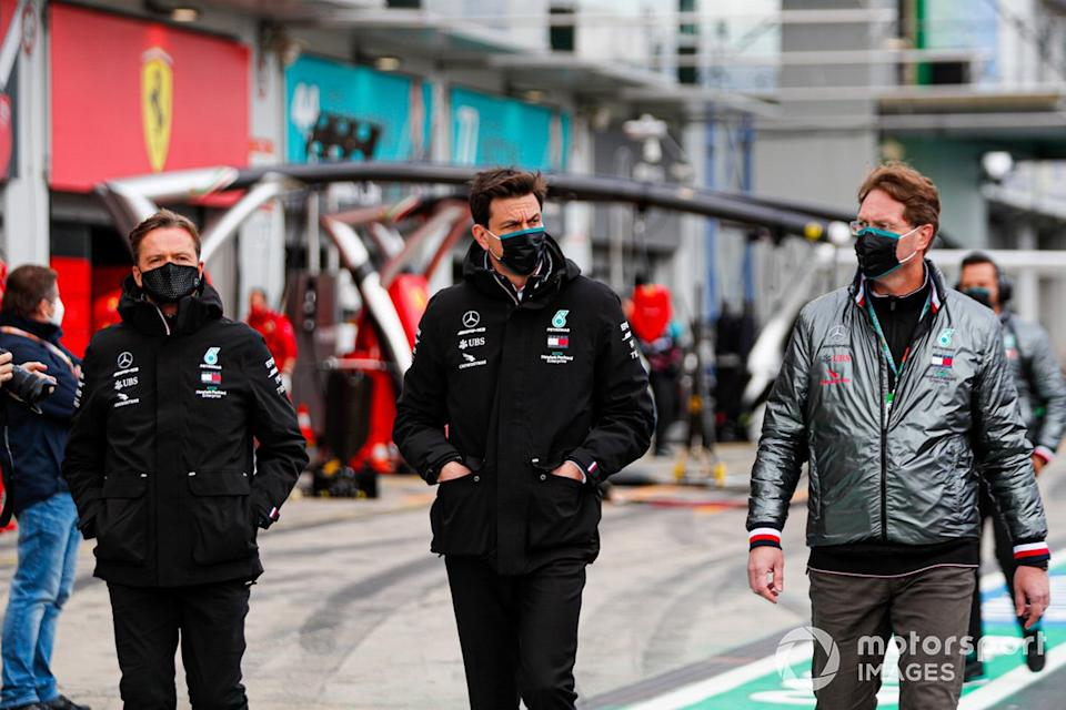 """Toto Wolff, Director Ejecutivo Mercedes AMG<span class=""""copyright"""">Steven Tee / Motorsport Images</span>"""