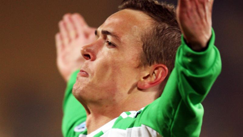 Ryan Griffiths Beijing Guoan v Newcastle Jets AFC Champions League 10032009
