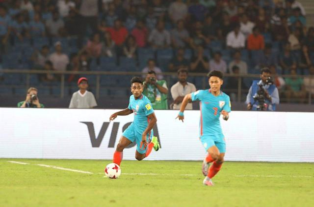 It was in many ways a encouraging outing as India made their U17 World Cup bow, despite the scoreline reading 3-0 in favour of their opponents..