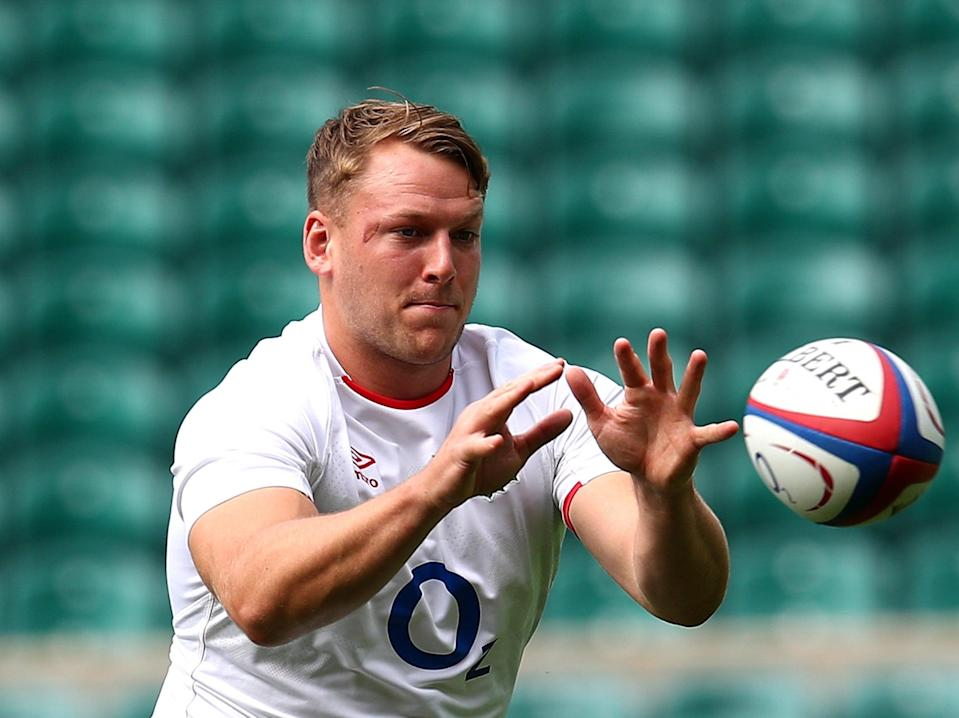 Alex Dombrandt in England training (Getty Images)