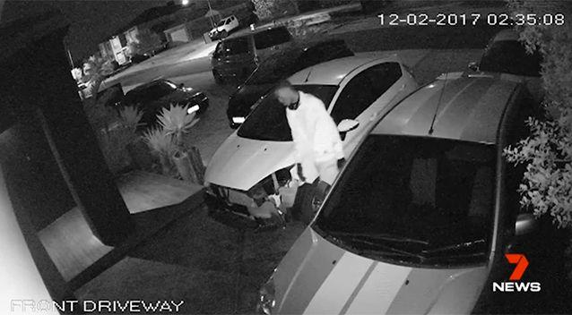 Despite the cameras, there crime continues. Source: 7 News
