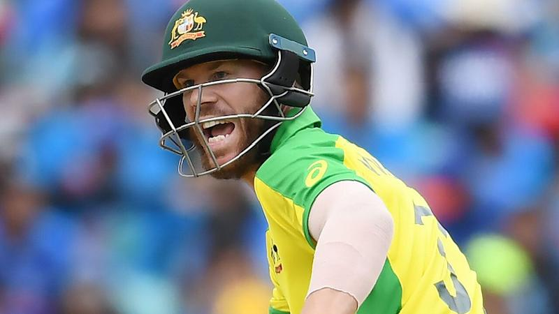 David Warner's slow innings contributed to Australia's downfall against India. Pic: Getty