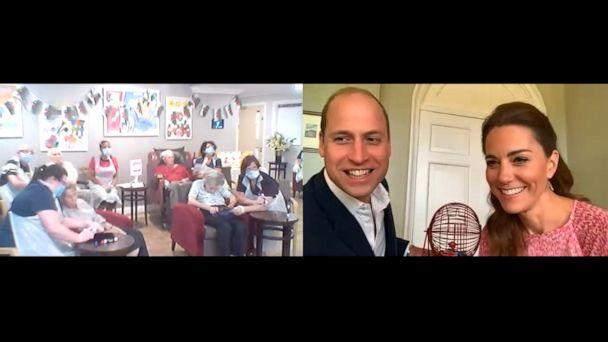 PHOTO: The Duke and Duchess of Cambridge took their turn as guest bingo callers at Shire Hall Care Home in Cardiff, Wales. (Kensington Palace)
