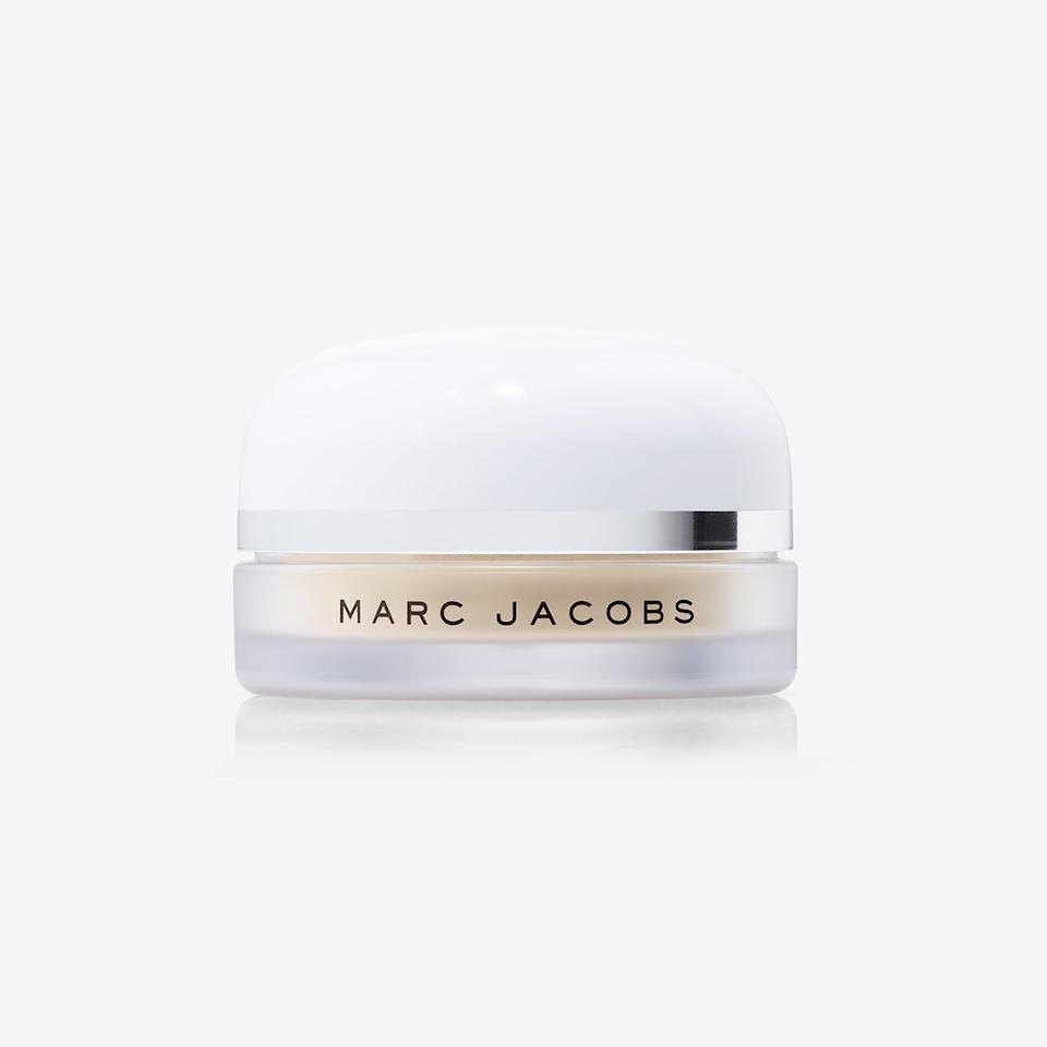 "<p>Marc Jacobs Beauty Finish-Line Perfecting Coconut Setting Powder looks pale in the jar, but there's nothing to be afraid of: It's <a href=""https://www.allure.com/gallery/best-setting-powder?mbid=synd_yahoo_rss"" rel=""nofollow noopener"" target=""_blank"" data-ylk=""slk:colorless on the skin"" class=""link rapid-noclick-resp"">colorless on the skin</a> — and we mean all skin tones — and not ashy in the least. It completely vanishes on contact, whisking away any surface oil along with it. But resist the urge to cover your entire face: ""You just want to slap it in the hot spots,"" makeup artist <a href=""https://www.allure.com/story/apply-setting-powder-with-small-makeup-brush?mbid=synd_yahoo_rss"" rel=""nofollow noopener"" target=""_blank"" data-ylk=""slk:Nam Vo has told Allure"" class=""link rapid-noclick-resp"">Nam Vo has told <em>Allure</em></a>, noting that she targets are the middle of the forehead, tip of the nose, and the middle of the chin and avoids the cheekbones and the bridge of your nose. ""Even if they're shiny and a little bit oily, they still look good.""</p> <p><strong>$44</strong> (<a href=""https://shop-links.co/1643969040138922955"" rel=""nofollow noopener"" target=""_blank"" data-ylk=""slk:Shop Now"" class=""link rapid-noclick-resp"">Shop Now</a>)</p>"