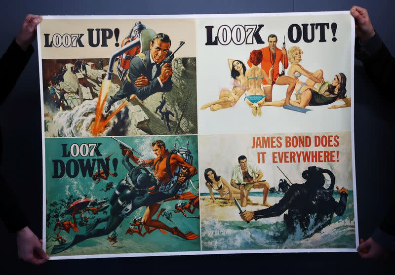 Subasta de James Bond en Ewbank's Auctioneers