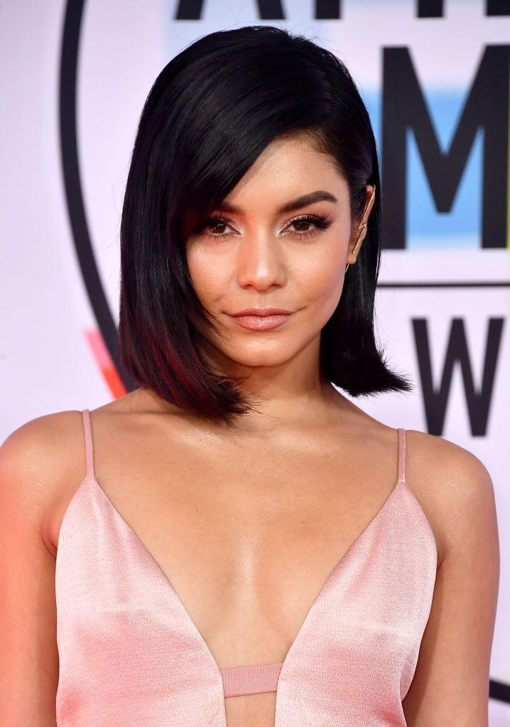 <p>One word: Fierce. <strong>Vanessa Hudgens</strong>' asymmetrical bob is very stylish, only made better by dramatic sweeping side bangs. The subtle wave on the tips of her hair is relaxed, yet bold. </p>