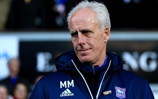 """Mick McCarthy has announced he is leaving Ipswich Town with immediate effect, bringing an early end to his five-and-a-half-year spell at the club. The 59-year-old had been due to leave the Championship outfit at the end of the season but instead quit after Jonas Knudsen's 54th-minute goal left the team 12th in the table and above rivals Norwich on goal difference. The decision, McCarthy revealed, had been made at the weekend. """"I said I would see the season out but it's been a new experience and it's not one I have been enjoying to be honest,"""" he told the club's official website. �� 