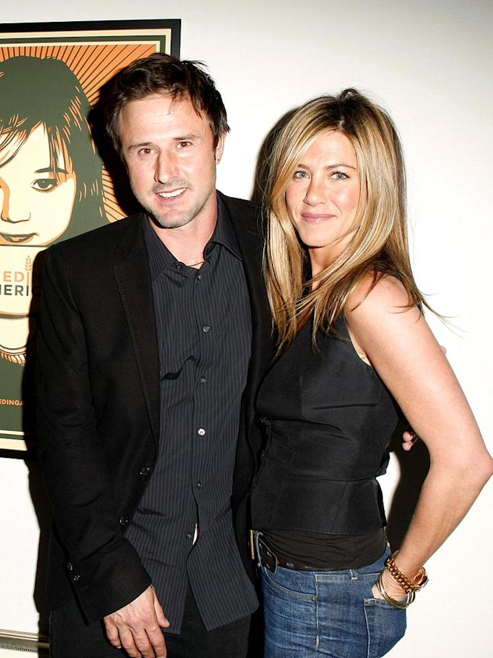 "When Jennifer Aniston isn't hunting for husbands, she's hanging out with the Arquette-Cox clan. Jeff Vespa/<a href=""http://www.wireimage.com"" target=""new"">WireImage.com</a> - January 9, 2009"