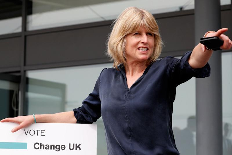Other Change UK candidates include former BBC presenter Gavin Elser and journalist Rachel Johnson, Boris' sister. (AFP/Getty Images)
