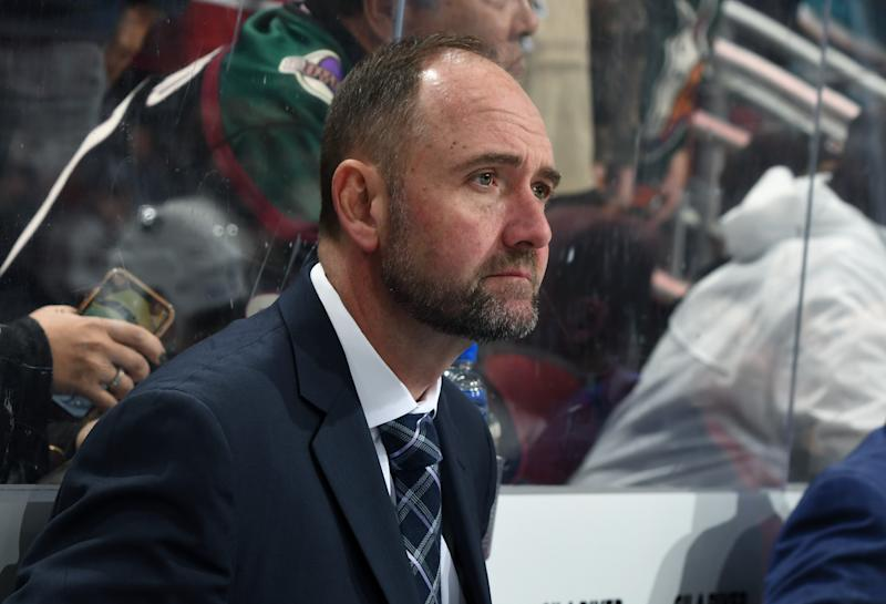 Sharks fire head coach Peter DeBoer