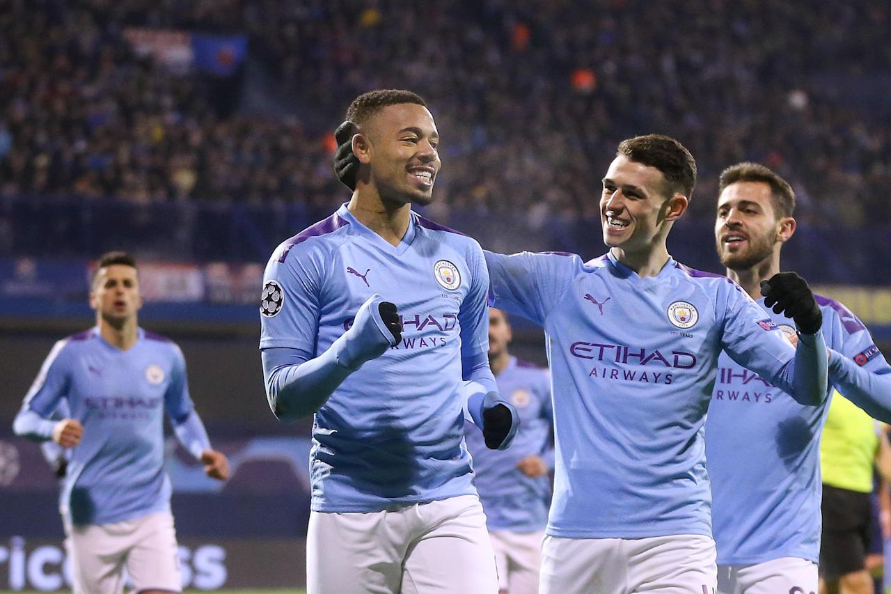 Gabriel Jesus 'cannot stop scoring' after Champions League win