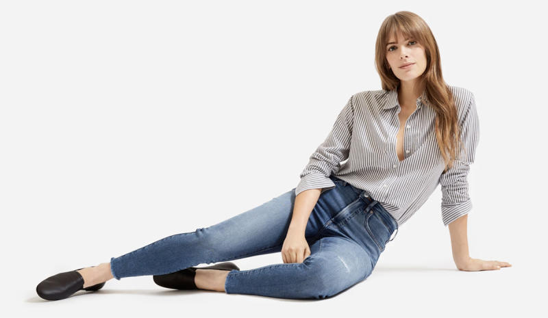 Your closet will always have a place for great-fitting jeans. (Photo: Everlane)