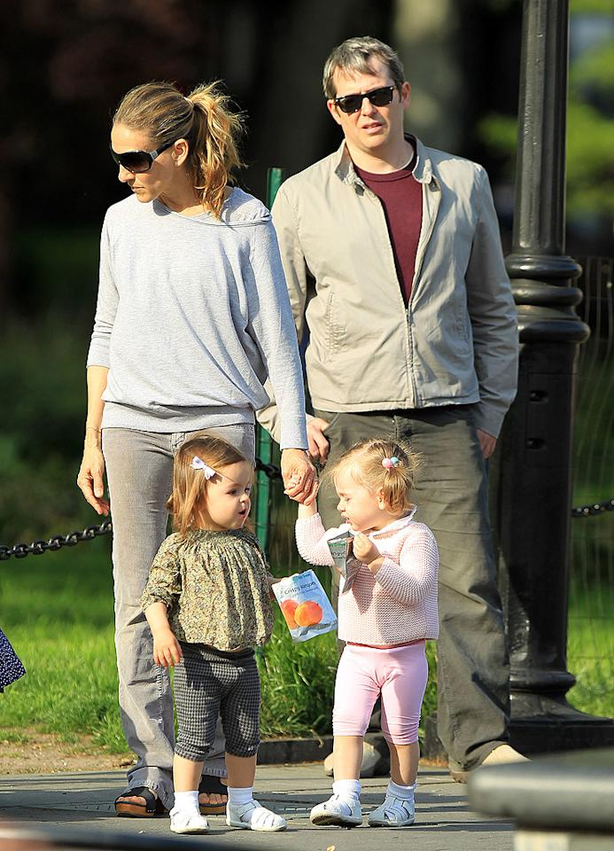 "<p class=""MsoNormal"">Sarah Jessica Parker gave birth to son James Wilkie in 2002, but when she and husband Matthew Broderick wanted to have more children a few years later, the couple faced fertility troubles and turned to a surrogate, who delivered their twin daughters, Marion and Tabitha, in June 2009. ""It would be odd to have made this choice if I was able to … have successful pregnancies since my son's birth,"" Parker, now 47, said in an interview with ""Access Hollywood"" a month before the twins arrived. ""I'm excited. I'm in disbelief. I'm really grateful."" </p>"