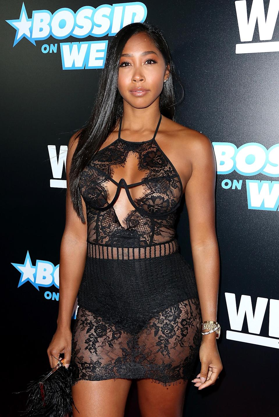 'Love & Hip Hop' star Apryl Jones is being mom-shamed. (Photo: Getty Images)