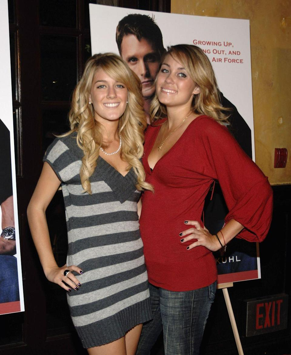<p><em>The Hills </em>alum Lauren Conrad and Heidi Montag were consistent mid '00s trendsetters. At this particular book party, that meant fans were in search of Montag's v-neck sweater dress.</p>