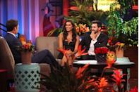 <p>Following a rocky season on <em>The Bachelor,</em> Taylor was on a bit of a redemption tour when she arrived on the beach in season 4 of <em>BiP</em><em>.</em> And redemption in the form of a serious relationship with Derek—which showed fans her softer side—is just what she got. The two left paradise happily engaged but eventually called it quits the following year.</p>