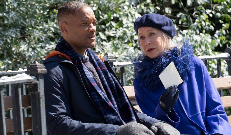 Will Smith and Helen Mirren in 'Collateral Beauty' - Credit: OutNow