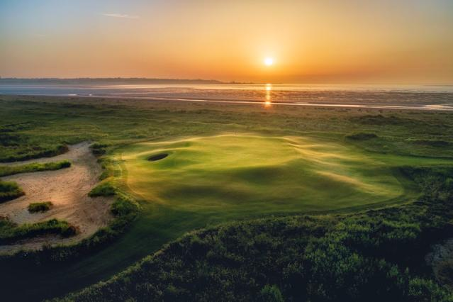 "<div class=""caption""> The seaside Prince's Golf Club is now the only one-time Open venue, with Royal Portrush set to host an Open again this year. </div>"
