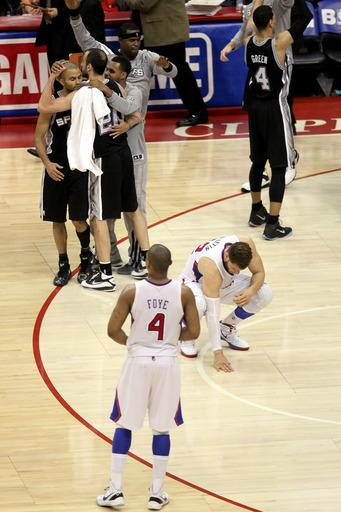 Spurs rally to beat Clippers, win series