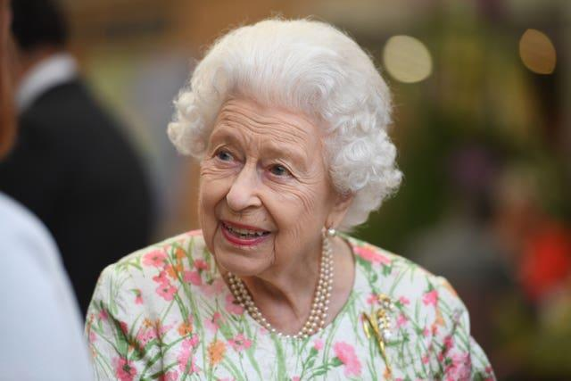 The Queen visited the Eden Project