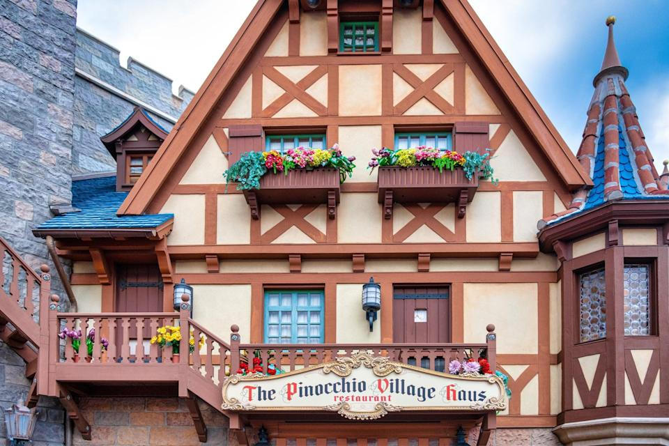 """<p>If your family is looking to sit down to eat, check out one of these spots throughout the four parks.</p> <ul> <li><a href=""""https://disneyworld.disney.go.com/dining/epcot/tutto-italia-ristorante/"""" class=""""link rapid-noclick-resp"""" rel=""""nofollow noopener"""" target=""""_blank"""" data-ylk=""""slk:Tutto Italia Ristorante"""">Tutto Italia Ristorante</a> (Epcot)</li> <li><a href=""""https://disneyworld.disney.go.com/dining/animal-kingdom-villas-kidani/sanaa/"""" class=""""link rapid-noclick-resp"""" rel=""""nofollow noopener"""" target=""""_blank"""" data-ylk=""""slk:Sanaa"""">Sanaa</a> (Animal Kingdom)</li> <li><a href=""""https://disneyworld.disney.go.com/dining/epcot/tokyo-dining/"""" class=""""link rapid-noclick-resp"""" rel=""""nofollow noopener"""" target=""""_blank"""" data-ylk=""""slk:Tokyo Dining"""">Tokyo Dining</a>** (Epcot)</li> <li><a href=""""https://disneyworld.disney.go.com/dining/magic-kingdom/plaza-restaurant/"""" class=""""link rapid-noclick-resp"""" rel=""""nofollow noopener"""" target=""""_blank"""" data-ylk=""""slk:The Plaza Restaurant"""">The Plaza Restaurant</a> (Magic Kingdom)</li> <li><a href=""""https://disneyworld.disney.go.com/dining/epcot/spice-road-table/"""" class=""""link rapid-noclick-resp"""" rel=""""nofollow noopener"""" target=""""_blank"""" data-ylk=""""slk:Spice Road Table"""">Spice Road Table</a> (Epcot)</li> <li><a href=""""https://disneyworld.disney.go.com/dining/magic-kingdom/pinocchio-village-haus/"""" class=""""link rapid-noclick-resp"""" rel=""""nofollow noopener"""" target=""""_blank"""" data-ylk=""""slk:Pinocchio Village Haus"""">Pinocchio Village Haus</a> (Magic Kingdom)</li> <li><a href=""""https://disneyworld.disney.go.com/dining/hollywood-studios/mama-melrose-ristorante-italiano/"""" class=""""link rapid-noclick-resp"""" rel=""""nofollow noopener"""" target=""""_blank"""" data-ylk=""""slk:Mama Melrose's Ristorante Italiano"""">Mama Melrose's Ristorante Italiano</a> (Hollywood Studios)</li> <li><a href=""""https://disneyworld.disney.go.com/dining/epcot/rose-and-crown-pub-and-dining-room/"""" class=""""link rapid-noclick-resp"""" rel=""""nofollow noopener"""" target=""""_blank"""" data-ylk=""""slk:Rose &amp; Crown Dining Room"""">Rose &amp;"""