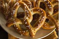 "<p>Why? Because the twists of this salty treat resemble <a href=""http://www.sundayschoolkids.com/activities-lent-easter/1-legend-of-lent-pretzel-instru.htm"" rel=""nofollow noopener"" target=""_blank"" data-ylk=""slk:arms crossing in prayer"" class=""link rapid-noclick-resp"">arms crossing in prayer</a>. We say it's time to bring back this savory snack to the sweets-filled holiday. </p>"