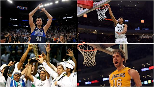 After Dirk Nowitzki called time on his extraordinary career, we look at some of the best European imports to grace the NBA.