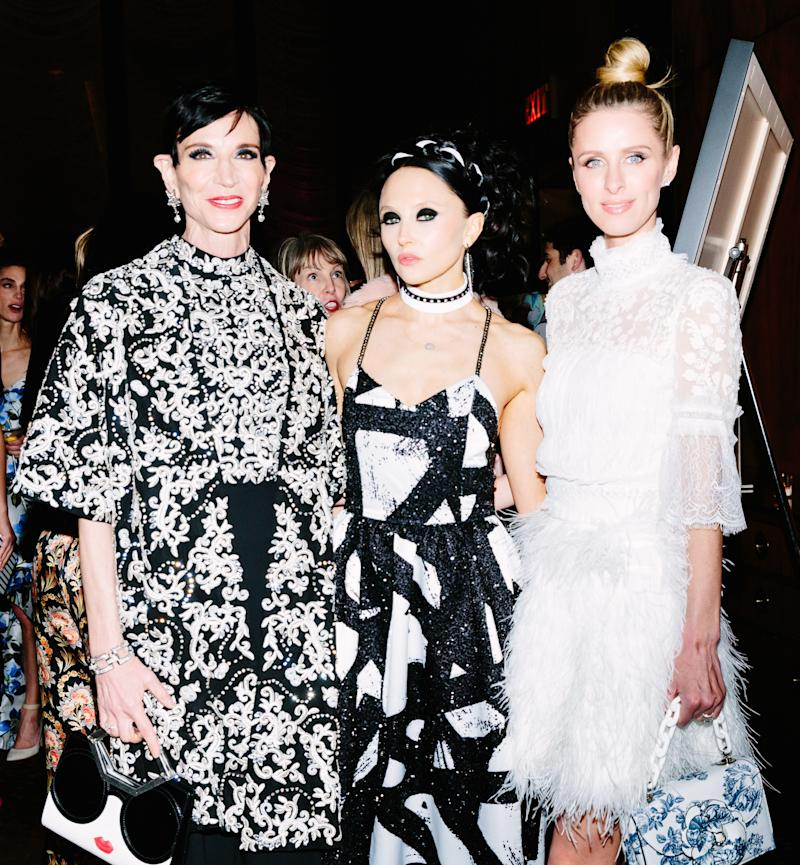 Amy Fine Collins, Stacey Bendet, and Nicky Hilton Rothschild attend The School of American Ballet celebrates the annual Winter Ball.