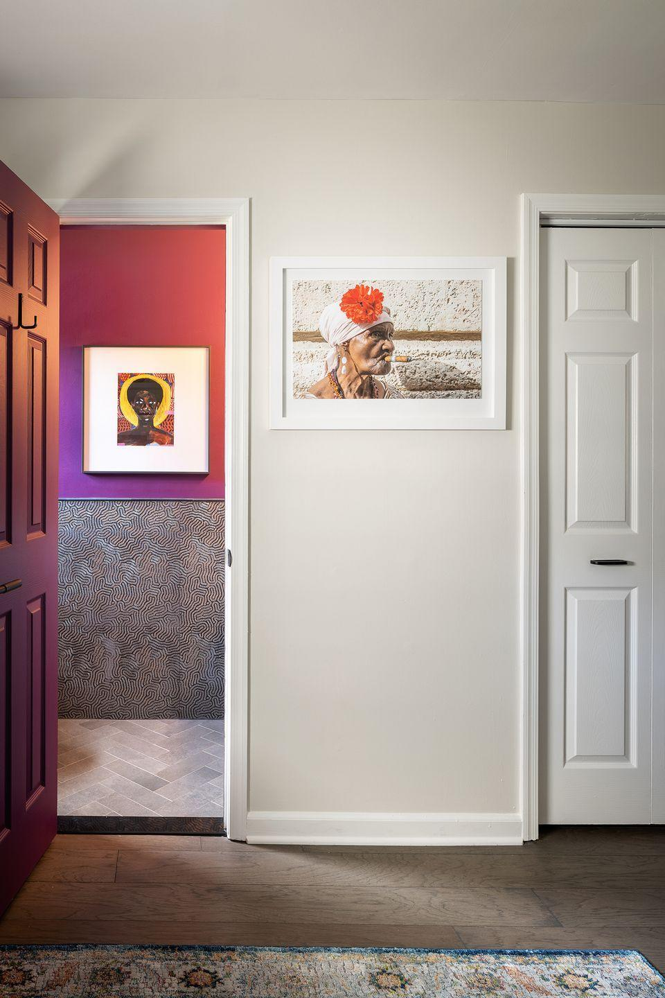 "<p>""We'll see darker and moodier colors in rooms juxtaposed with lighter colors in adjacent rooms. This provides depth, visual interest, and a clear definition of the spaces to make each room feel more special."" — <a href=""https://www.bethdianasmith.com/"" rel=""nofollow noopener"" target=""_blank"" data-ylk=""slk:Beth Diana Smith"" class=""link rapid-noclick-resp"">Beth Diana Smith</a></p>"