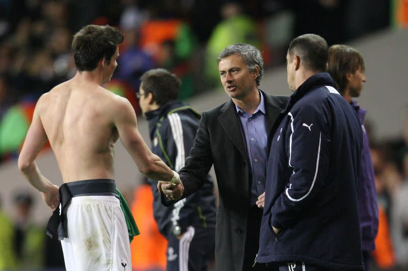 Mourinho coy on Spurs' attempt to sign Bale from Real Madrid