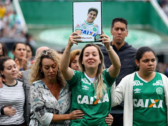 Chapecoense were travelling to play in the Copa Sudamerica final: Getty