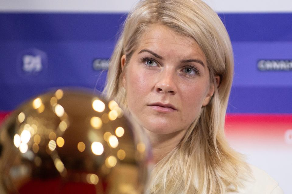 Ada Hegerberg made history with her Ballon d'Or win. (Getty Images)