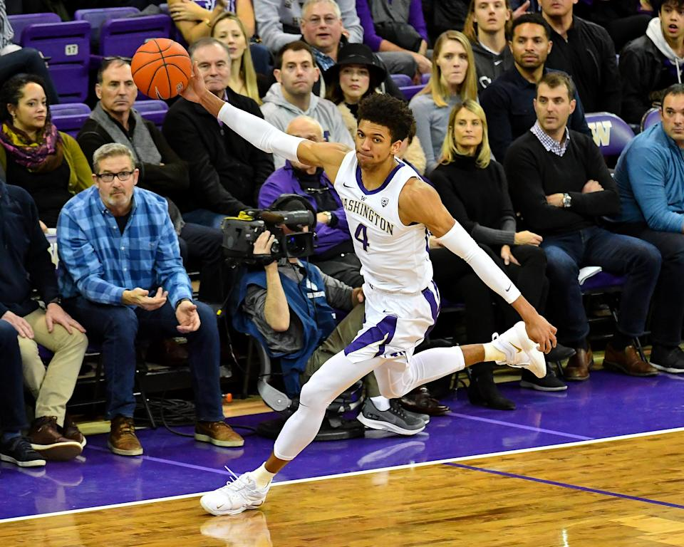 Matisse Thybulle is an elite college basketball defender. (Getty)