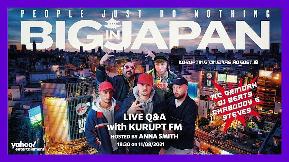 Join Korupt FM as they take over the Yahoo airwaves. (Universal Pictures)