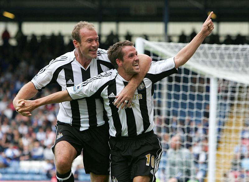 Shearer and Owen in happier times (Photo by Laurence Griffiths/Getty Images)