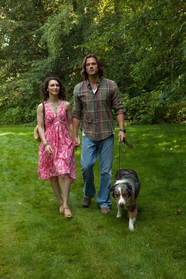 "Liane Balaban as Amelia and Jared Padalecki as Sam in the ""Supernatural"" episode, ""Heartache."""