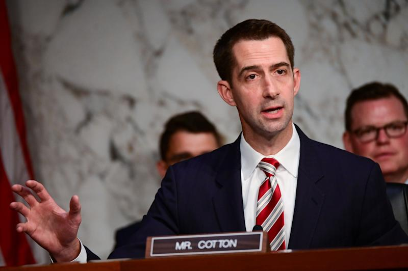 Senator Tom Cotton (Photo: Erin Scott / Reuters)