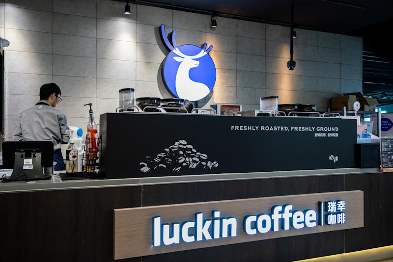 China's securities regulator denounces Luckin Coffee's financial fraud