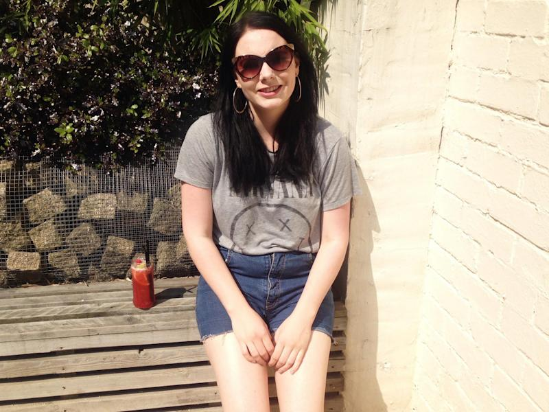 "Alice Kirby, 25, accused the Department for Work and Pensions of ""institutional abuse"" after she was asked by disability benefit assessors why she had not killed herself: Alice Kirby"