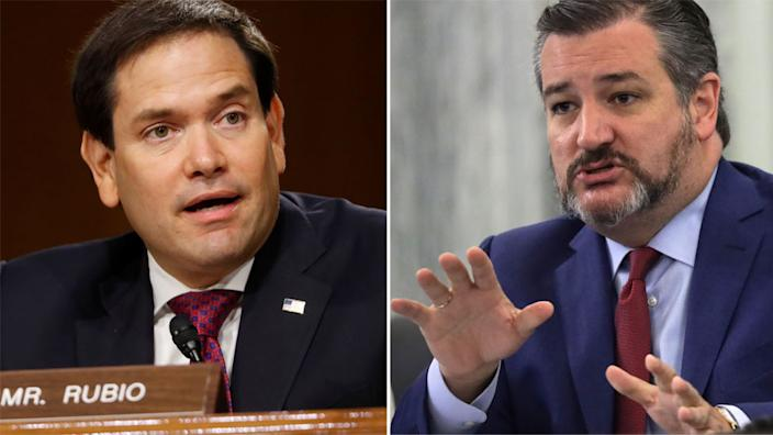 Marco Rubio and Ted Cruz are prominent figures in the US Republican party