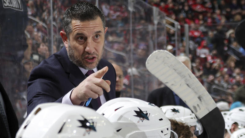 NHL rumors: Sharks coach Bob Boughner soon will have interim tag removed