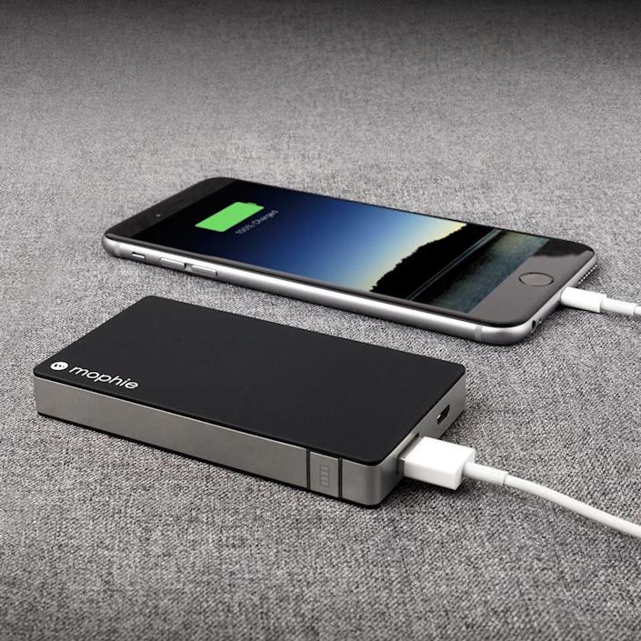 Best gifts under $50: Mophie Portable Charger.