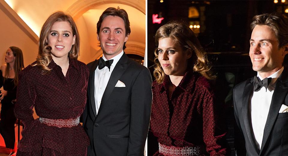 Princess Beatrice made an appearance with new boyfriend Edoardo Mapelli Mozzi. [Photo: Getty]