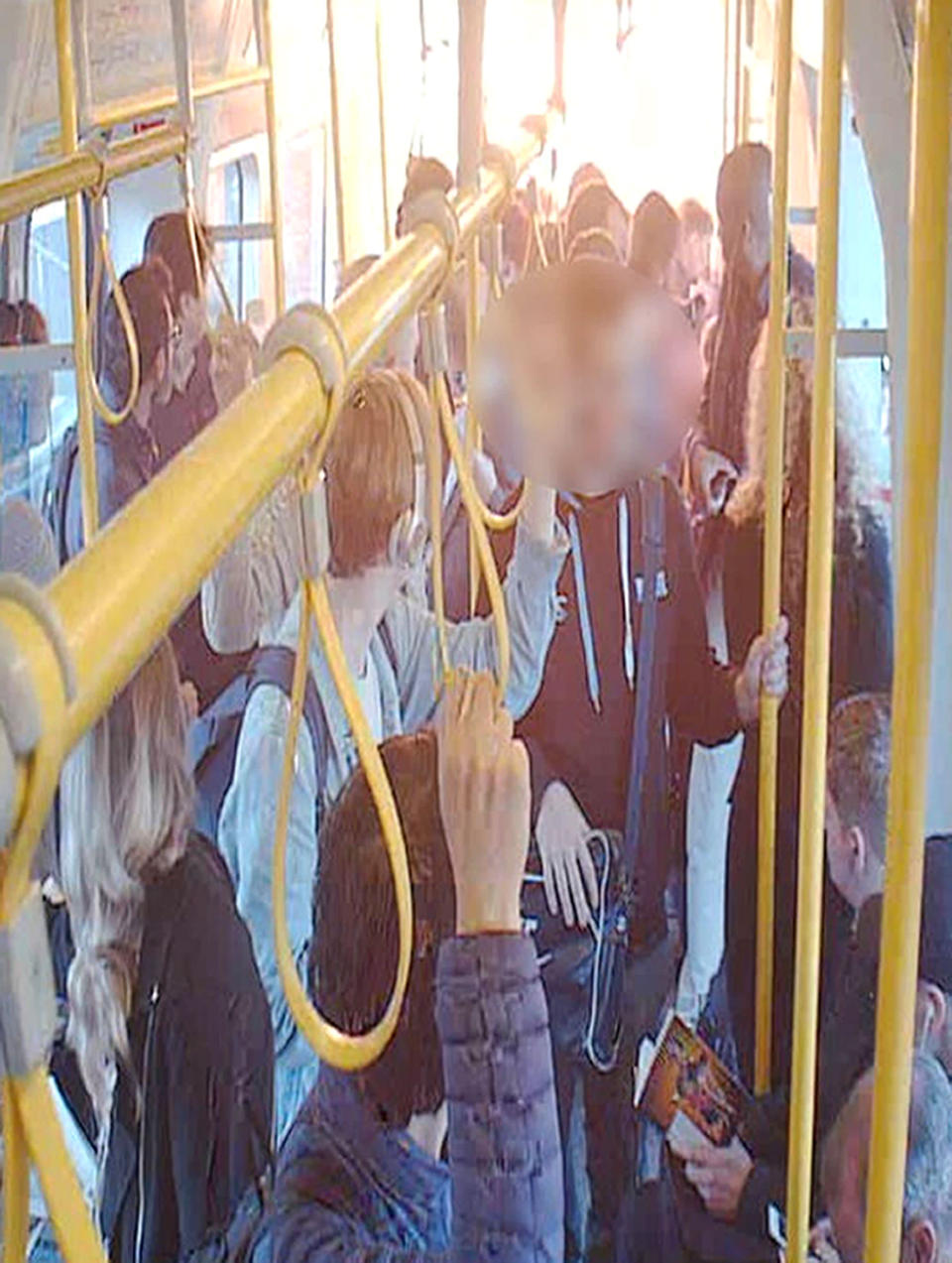 <em>Terror – passengers were faced with horrific scenes as they tried to flee the train</em>