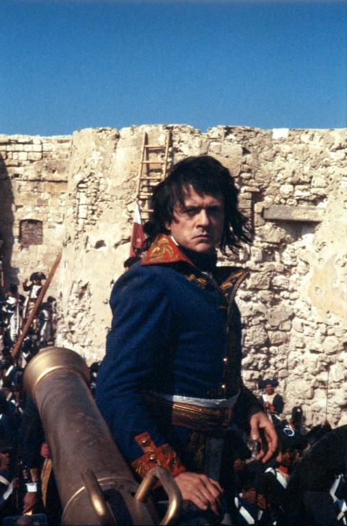 French actor and director Patrice Chereau is seen as Napoleon Bonaparte in Cairo on June 16, 1984, during the shooting of 'Adieu Bonaparte'