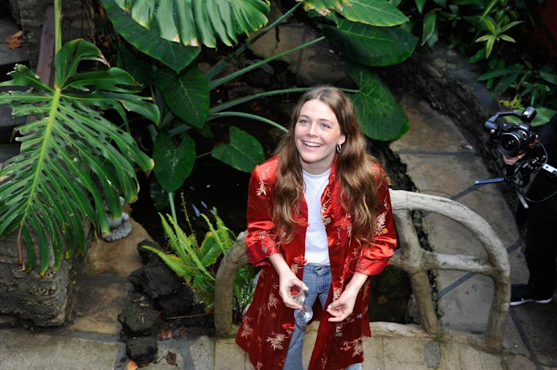 "Singer-songwriter Maggie Rogers, 24, whose album ""Heard It in a Past Life"" is out Friday."